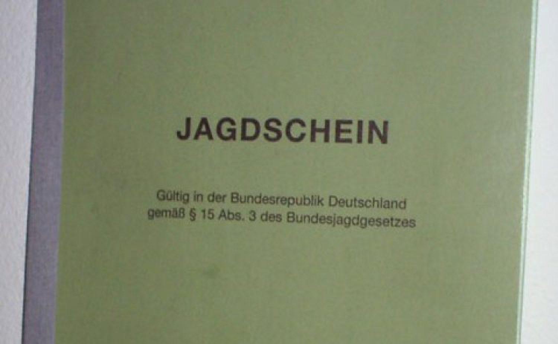 Jagdschule und Jagdschein