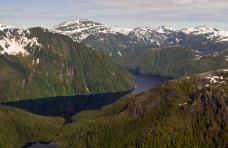 Jagd in Norwegen Fjord