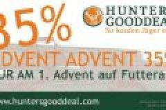 Adventsaktion: Huntersgooddeal reduziert alle Futterale ab Sonntag um 35%