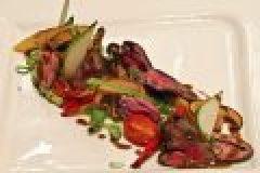Wildrezept der Woche: Gebratene Leber vom Rehbock mit Mairitterlingen