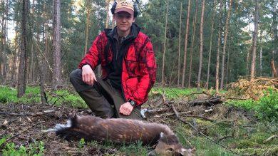 ShooterKing Mossy Red Softshell Jagdjacke Jagderfolg