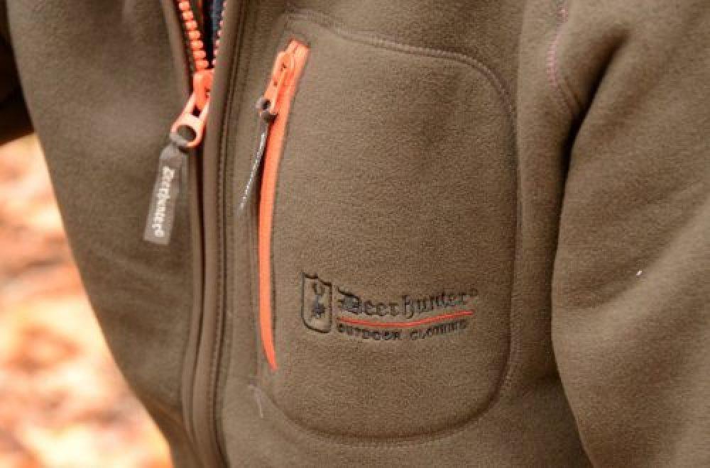 Reviererprobt: die Deerhunter Colville Fleecejacke