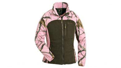 Pinewood Oviken Damen Fleecejacke Realtree AP Pink HD®/Jagdgrün