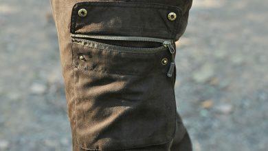 Pinewood Victoria Damenhose: Hosentasche mit Reißverschluss