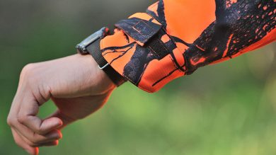 Univers Giacca Ohio Windstopper Orange Camo Jagdjacke – Ärmel