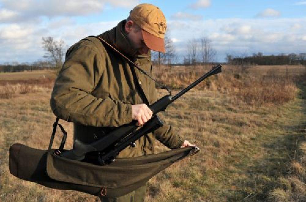 Das Blitzfutteral – ideal für den Jagdeinsatz